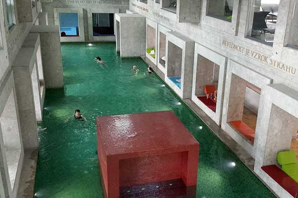 Rimske Therme - Das Thermal-Schwimmbad