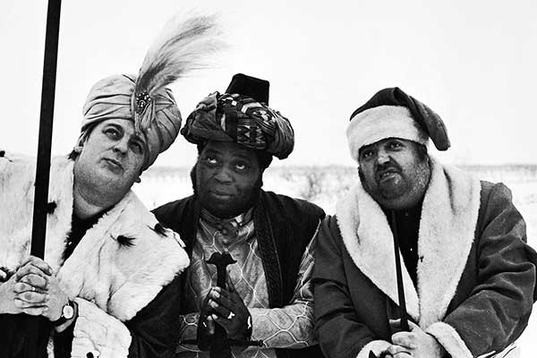 Fatty George, Al Fats Edwards, Helmut Qualtinger © Michael Horowitz